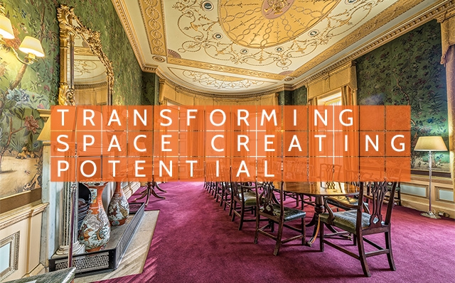 Transforming space. TRANSFORMING SPACE